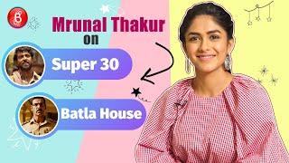 Mrunal Thakur On Hrithik Roshans Super 30 & John Abraham's Batla House