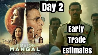 Mission Mangal Vs <span class='mark'>Batla House</span> Box Office Collection Day 2 Early  Estimates By Trade