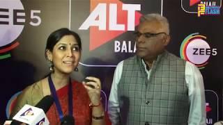 Sakshi Tanwar & Ashish Vidyarthi - Full Interview - MOM - Mission Over Mars Web Series Launch
