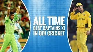 All time captains' XI in ODI cricket
