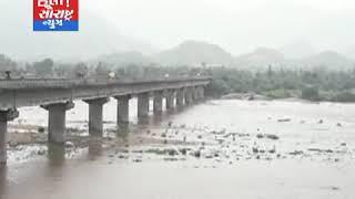 બનાસકાંઠા-સાર્વત્રિક વકારસાદ વરસતા નદીઓ પાણીથી ભરાય