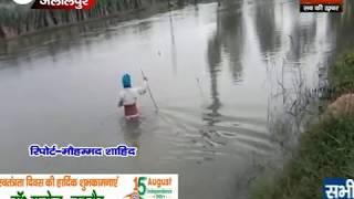 गंगा में जलस्तर बढ़ने से ग्रामीण परेशान
