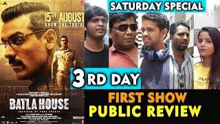 BATLA HOUSE Public Review | DAY 3 | Saturday Special | John Abraham | Mrunal Thakur
