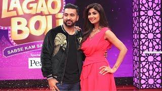 Shilpa Shetty With Husband Raj Kundra Shoot For New Show BOLI LAGAO