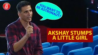 Mission Mangal: Akshay Kumar STUMPS A Little Kid By Asking If She Wants To Be An Astronaut