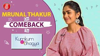 Mrunal Thakur Will Comeback To Kumkum Bhagya Only If...