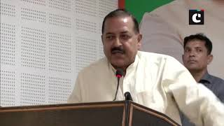 Let us free Pok and merge it with India says MOS Jitendra Singh