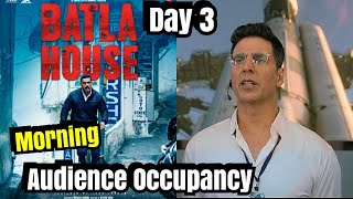 Mission Mangal Vs Batla House Audience Occupancy Day 3 Morning Shows