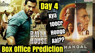 Mission Mangal Vs Batla House Box Office Prediction Day 4