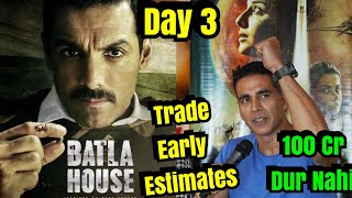 Mission Mangal Vs Batla House Box Office Collection Day 3 Early Estimates By TRADE