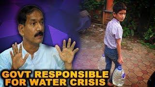 Govt Responsible For Water Crisis In Goa: Girish