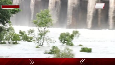 Exclusive Report: देखिए Nangal में Bhakra Dam से छोड़े जा रहे पानी की ताज़ा Update