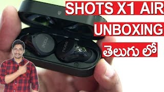 Noise Shots X1 Air Truly Wireless Bluetooth Headset with Mic unboxing and Review telugu