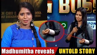 Madhumitha reveals the reason  - Why did I harm myself?