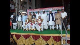 Gulbarga Ke Mujahedein Azadi Mohd Khurshid Aur Shivlingappa Kanoor Ko AMIM Ki Janib Se Award