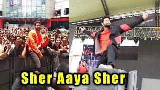 Gully Boy Fame Siddhant Chaturvedi At Umang Festival In Mumbai | MC Sher