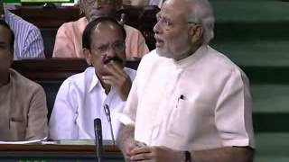PM Narendra Modi replies to the debate on the Motion of thanks on the President's Address -Part-1