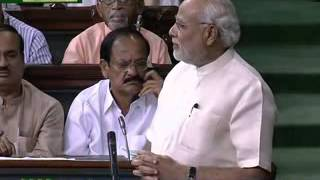 PM Narendra Modi replies to the debate on the Motion of thanks on the President's Address -Part-2