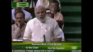 PM Narendra Modi replies to the debate on the Motion of thanks on the President's Address -Part-4