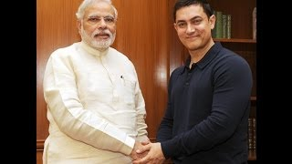 Actor Aamir Khan calls on the PM Narendra Modi | PMO