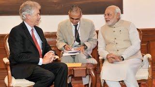US Deputy Secretary of State calls on PM Narendra Modi   PMO