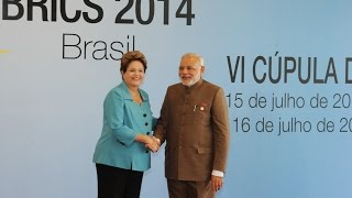 PM Narendra Modi at the First Working Session of the Sixth BRICS Summit | PMO