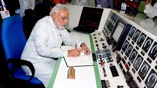PM Narendra Modi visits Bhabha Atomic Research Centre. | PMO