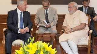 US Defence Secretary calls on PM Narendra Modi | PMO