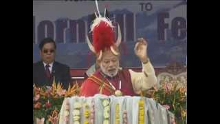 PM Modi participatiing Hombill Festival in Nagaland | PMO