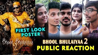 Bhool Bhulaiyaa 2 First Look Poster | PUBLIC REACTION | Kartik Aaryan
