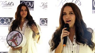 Neha Dhupia At The Launch Of Kiehl's New Product Ultra Facial Cream #HealTheScars