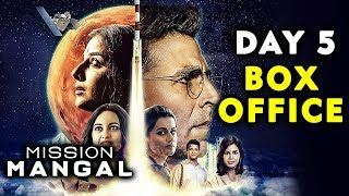 Mission Mangal | Day 5 Collection | Box Office | Akshay Kumar, Sonakshi, Taapsee, Vidya Balan