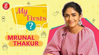 Mrunal Thakur BLUSHES Talking Of Shah Rukh Khan - Her First Celebrity Crush | My Firsts