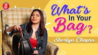 Sherlyn Chopra Wants To STEAL Something From Kim Kardashian's Bag - Find Out | What's In Your Bag?