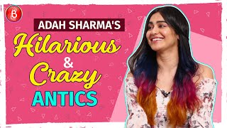 Adah Sharma's HILARIOUS & CRAZY Antics Will Make You Fall Off Your Seats
