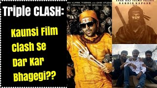 Bhool Bhulaiyaa 2 Vs Shamshera Vs RRR Clash Kaunsi Film Clash Se Darkar Bhagegi?