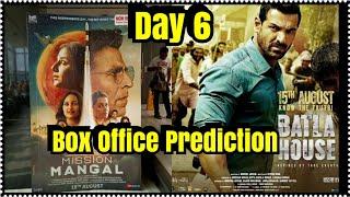 Mission Mangal Vs Batla House Box Office Prediction Day 6