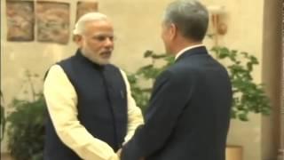PM Modi meets Kyrgyzstan President Almazbek Atambayev | PMO