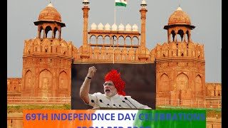 PM Modi at 69th Independence Day Celebrations from Red Fort | PMO