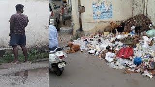 Govt Hospital Ban Raha Hain Kachra Kundi At Shah Ali Banda / What Is GHMC Doing ?
