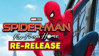 Spider-Man: Far From Home Is Getting Re-Released With New Footage   Full Details Here