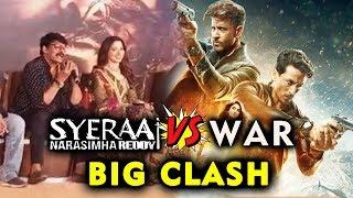 Farah Akhtar Reaction On Syeraa Narasimha Reddy Vs WAR Film Clash   Chiranjeevi Vs Hrithik Tiger