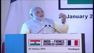 PM Modi's address at India France Business Summit | PMO