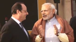 PM Modi, French President Visit Capitol Complex in Chandigarh | PMO