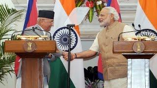 India-Nepal exchange 9 agreements | PMO