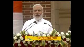 PM Modi's speech Run For Rio, at Major Dhyan Chand National Stadium, in New Delhi on July 31, 2016.