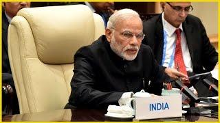 PM Modi attends BRICS leaders' meeting in Hangzhou | PMO