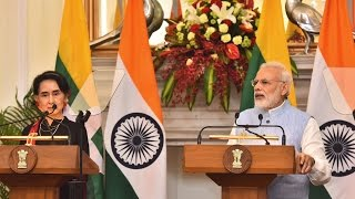 PM Modi's Speech at Joint Press Statements with Myanmar State Counsellor Daw Aung San Suu Kyi | PMO