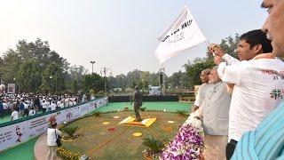 PM Modi at the flag-off ceremony of the Run for Unity 2016, New Delhi | PMO