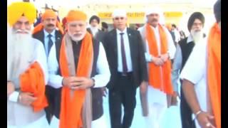 PM Narendra Modi's visit & Darshan of Gurudwara Takht Sri Keshgarh Sahib, Punjab | PMO